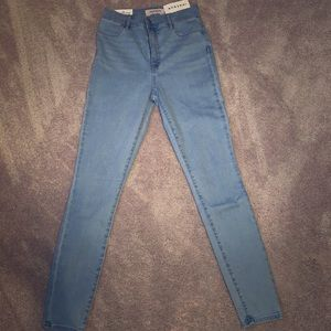 Blue Pacsun Skinny Jeans